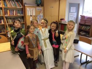3.klasse SÅ klar til carnaval!