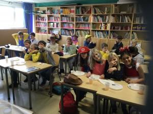 Karneval med svenske, norske og danske elever i 4.klasse